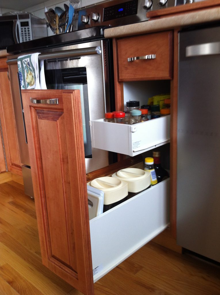 Custom Roll-Out drawers